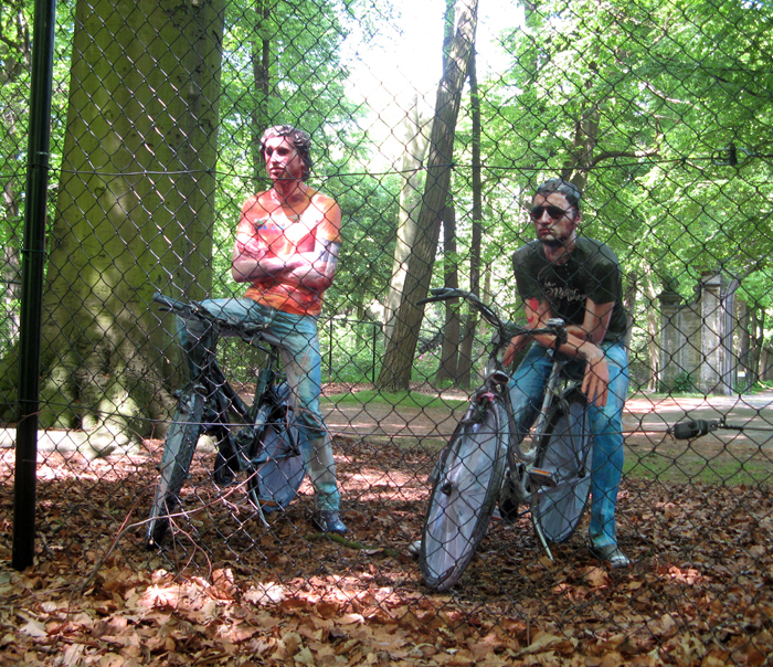 Cristian Bors & Marius Ritiu, Behind the Fence [Uninvited Artists], Middelheim Museum, Antwerp, Belgium, 2010