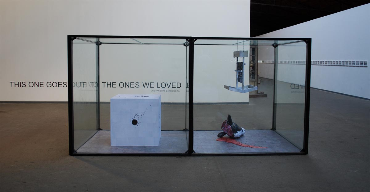 Cristian Bors & Marius Ritiu, This One Goes Out to the Ones We Loved, Verbeke Foundation, Kemzeke, Belgium,