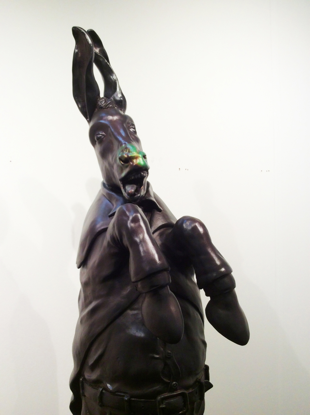 Bors & Ritiu, Black Hole Donkey, Slag Gallery, Basel, Switzerland, 2016